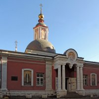 Москва. Церковь Николая Чудотворца в Подкопаях. :: Александр Качалин