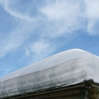 Снежный слоеный пирог :: Елена Байдакова