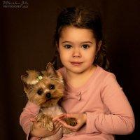 Ника и Бусинка :: Julia Miloserdova
