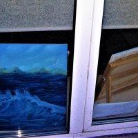Шторм в окне :: Василий