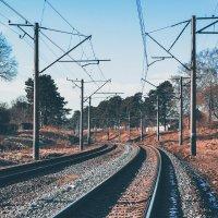 Железнодорожный путь :: Сергей Сошко