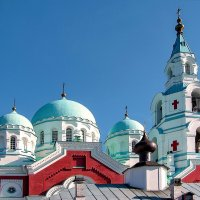 Валаамский монастырь. Купола. :: Юрий ЛМ