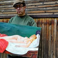 Первая работа художника Амадео Модильяни (Не продается) :: Борис