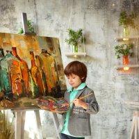 Юный художник :: Фотохудожник Наталья Смирнова