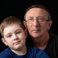 Автопортрет с внуком ! :: Константин Чернышев