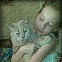 У кота ..теплота.. :: Валентина Дмитровская