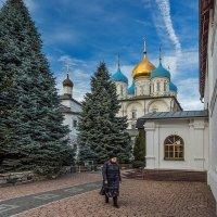 в Новоспасском монастыре :: Владимир Иванов