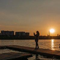 Сэлфи на закате... :: Сергей