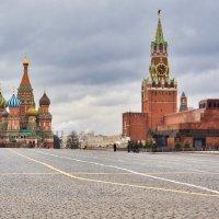 Москва на изоляции... :: Константин Поляков