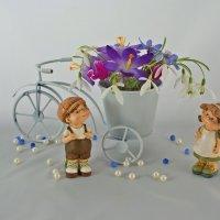 «Я буду долго гнать велосипед...» :: Людмила Торварт