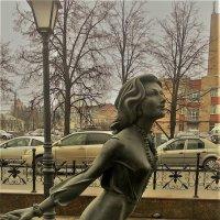 Девушка, спешащая на свидание :: Вячеслав Маслов