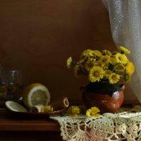 <Апрельские солнышки..> или < С букетиком из мать-и-мачехи...> :: Рита S