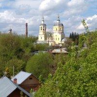 Вид на храм Ильи Пророка, Серпухов :: Марина Кушнарева