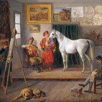 Альбрехт Адам – Мастерская художника в Мюнхене :: Gen Vel