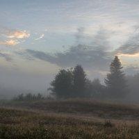 Туманный рассвет августа :: Валентин Котляров