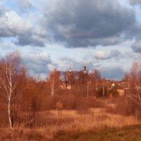 Осенний пейзаж со Скорбященской церковью :: Andrew Barkhatov