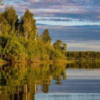 Тихий вечер на разливах Иртыша :: Денис Григорьев