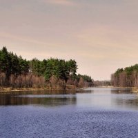 Апрель на озере :: Александр Бойченко