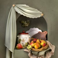 Натюрморт с грушами в нише :: Светлана Л.