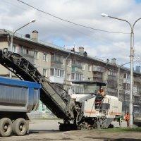 Ремонт дороги :: Александр Подгорный