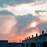 Из окна вижу рассвет... :: Raduzka (Надежда Веркина)