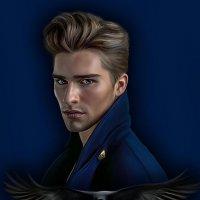 Мужской портрет по фото :: Светлана Кузнецова