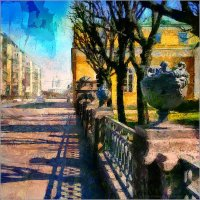 My magic Petersburg_03625_ Шпалерная улица :: Станислав Лебединский