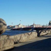 Вид со стрелки Васильевского острова (Санк-Петербург) :: Ольга И