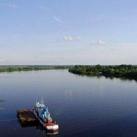 Вид на  Волхов с моста... :: Светлана Z.