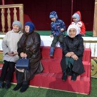 Бабушки и внуки... :: Андрей Хлопонин