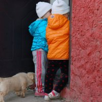 Ваш пёсик выйдет гулять? :: Юрий Гайворонский