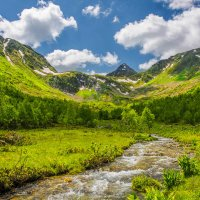 Долина реки Малая Дукка. :: Аnatoly Gaponenko