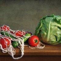 Капуста,помидоры и огурцы :: Алла Шевченко