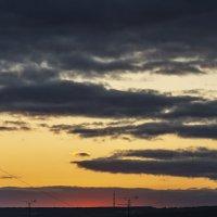 Оранжевый закат :: Алена Рябченко