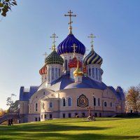 Храм Князя Игоря (вспоминая осень) :: Елена Кирьянова