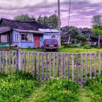 настоящий деревенский дом с Нивой :: Георгий А