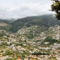 Так на горных отрогах расположилась столица Мадейры-город Фуншал. :: Анастасия Богатова