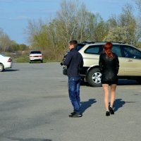 Сценка на парковке. :: Юрий ЛМ