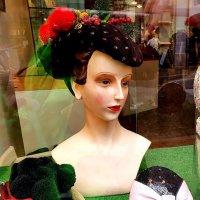 Дама с витрины бутика :: Борис