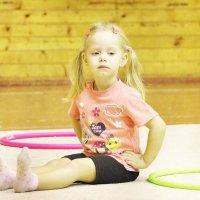Тренировка по художественной гимнастике :: Nata Potapova