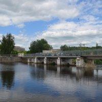 Великие Луки, июнь 2020, мост-плотина на реке Ловать... :: Владимир Павлов