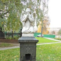 Надгробие на могиле Вульферт Софьи Николаевны. :: Александр Качалин