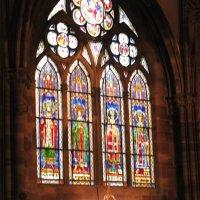 Франция. Страсбург. В Кафедральном соборе. Витражи. :: Владимир Драгунский