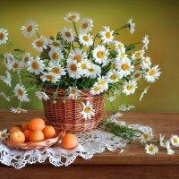 Ромашки и абрикосы :: Алла Шевченко