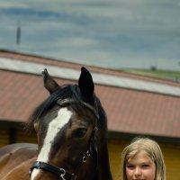 Прогулка в конном клубе :: Наталья Татьянина