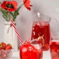 Клубничный напиток :: Viktoria Sennikova