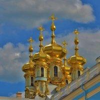 Золотые купола церкви Воскресения Христова... :: Sergey Gordoff