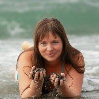 Адлер...море...незнакомка... :: Сергей Удовенко