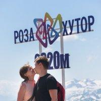Высоко в горах, - поцелуй слаще! :: Игорь Тимонов