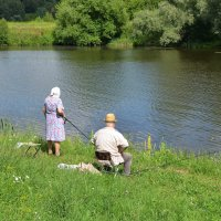 Семейная рыбалка :: Oleg4618 Шутченко
